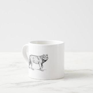 Wolf Espresso Mugs