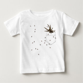 Wolf spider and brood In Your Pocket T-shirt