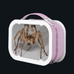 """Wolf Spider Lunch Box<br><div class=""""desc"""">Wolf Spider... Using amazing, unique, and high-quality images of wildlife and nature, WorldDesign is dedicated to creating fun and beautiful products for people to enjoy, share, and promote as gifts. We are a Zazzle Elite ProSeller and own the copyright to all the images presented and ALL of our products are...</div>"""