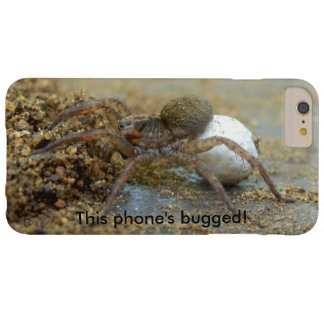 Wolf Spider With Egg Sac Bugged iPhone Case