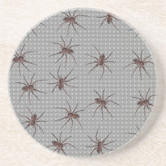 Wolf Spiders Drink Coaster