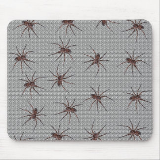Wolf Spiders Mouse Pad