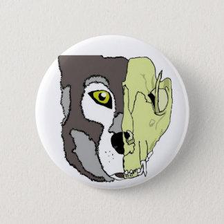 Wolf Spirit Animal Pinback Button