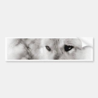 Wolf Spirit Bumper Sticker