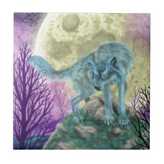 Wolf Spirit Ceramic Tile