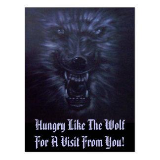 Wolf Spirit - Designer Postcard