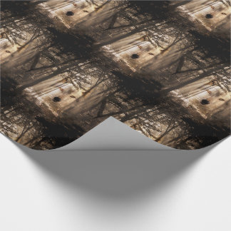 Wolf spirit in the woods wrapping paper