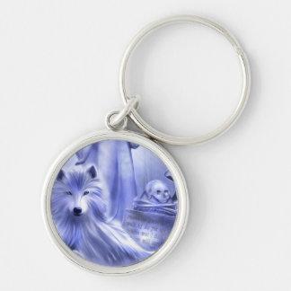 Wolf Spirit Keychain
