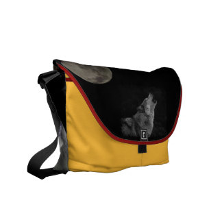 wolf spirit mama courier bags