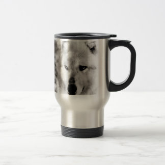 Wolf Spirit 15 Oz Stainless Steel Travel Mug