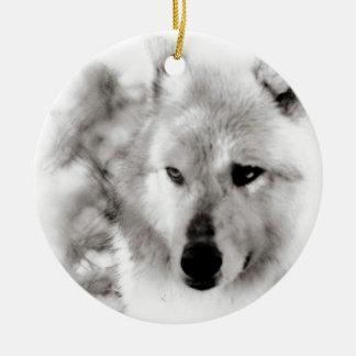 Wolf Spirit Christmas Tree Ornaments