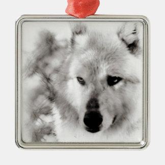 Wolf Spirit Christmas Ornaments