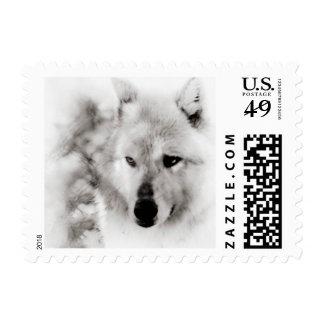 Wolf Spirit Postage Stamp