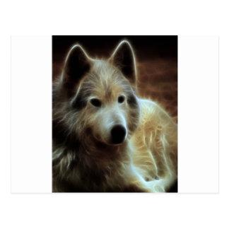 Wolf Spirit Postcard