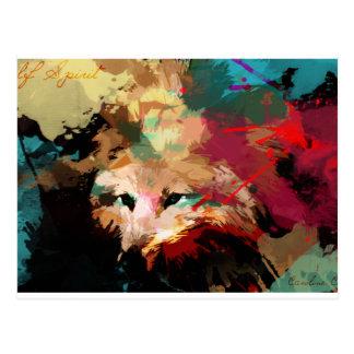Wolf spirit Series - Prowling sunka Postcard