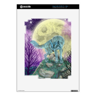 Wolf Spirit Skins For iPad 2