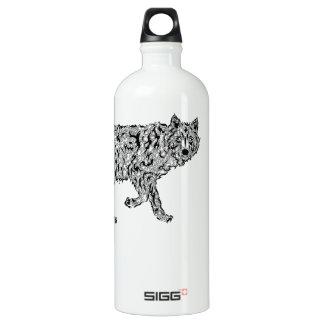 """""""Wolf Spirit"""" - Surreal Totem Animal SIGG Traveler 1.0L Water Bottle"""