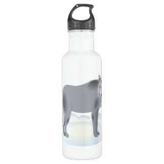 Wolf Stainless Steel Water Bottle