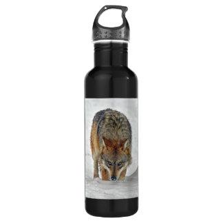 Wolf Stalking 24oz Water Bottle