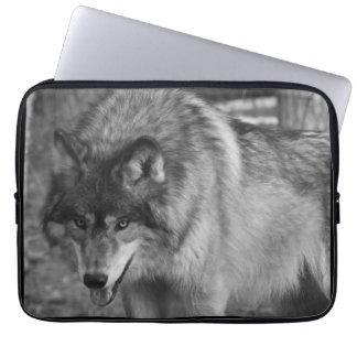 Wolf Stare Laptop Sleeve
