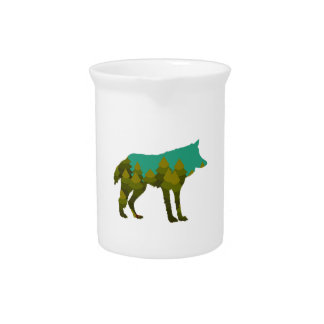 Wolf stroll drink pitcher