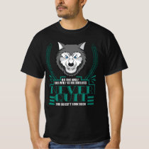 Wolf T Shirt - Be The Wolf