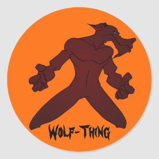 Wolf-Thing Stickers