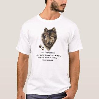 Wolf Totem, Animal Guide Inspirational T-Shirt