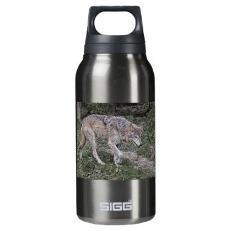 Wolf Tracking Insulated Water Bottle