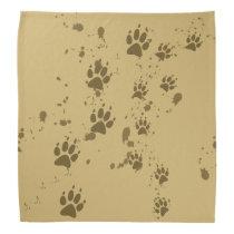 Wolf Tracks Bandana