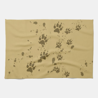 Wolf Tracks Towel