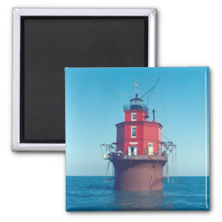 Wolf Trap Lighthouse 2 Inch Square Magnet