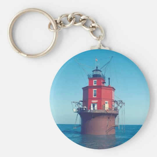 Wolf Trap Lighthouse Keychain
