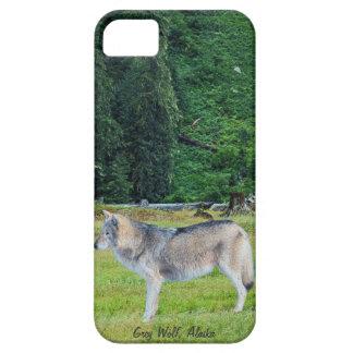Wolf u. alaskischer Waldtier-Kunst iPhone 5 Fall iPhone 5 Cover