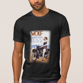 WOLF VINTAGE MOTORCYCLES. T-Shirt