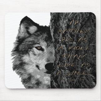 Wolf vs Sheep Mousepad