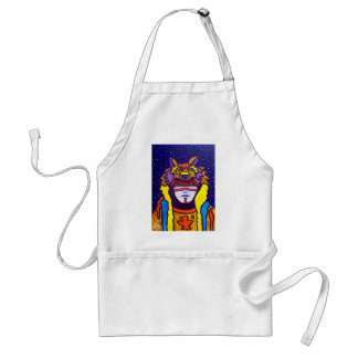 Wolf Walking by Piliero Adult Apron