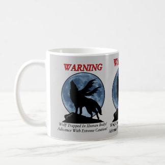 Wolf Warning Mug