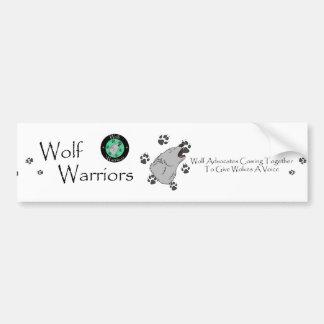 Wolf Warriors Bumper Sticker Car Bumper Sticker
