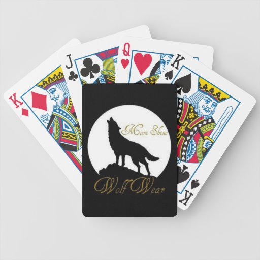 Wolf Wear. casual wear and items Card Deck