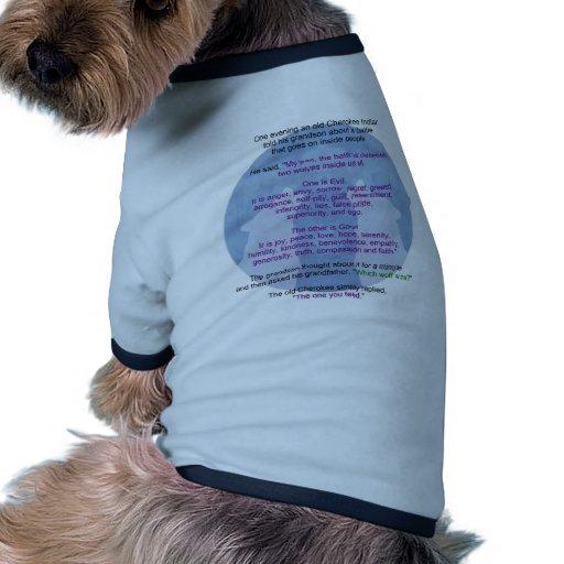 Wolf Wisdom Doggie Tee Shirt