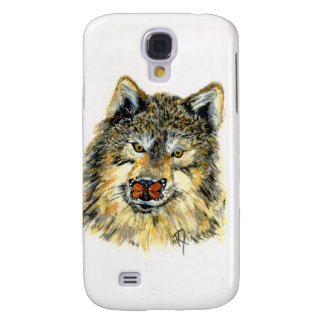 Wolf with Butterfly 3G iPhone case