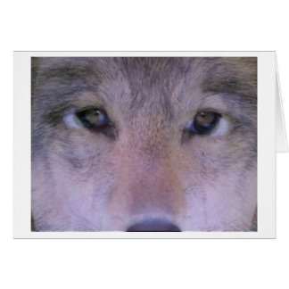 Wolf Within Greeting Card
