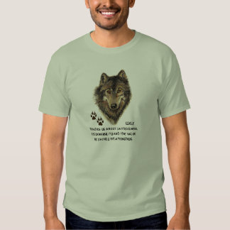 Wolf, Wolves Animal Totem, Nature Guide T-Shirt