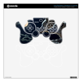 Wolf Wolves Howling at the Full Moon Skin For PS3 Controller