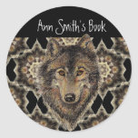 Wolf, Wolves, Wild Animal, Nature, Book Plate