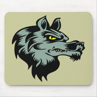 wolfbeast mouse pad