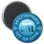 WolfDreamer - Off The Hook Crochet Magnets