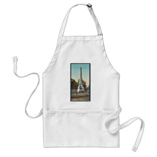 Wolfe and Montcalm monument Quebec rare Photochro Aprons