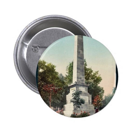 Wolfe and Montcalm monument, Quebec rare Photochro Buttons